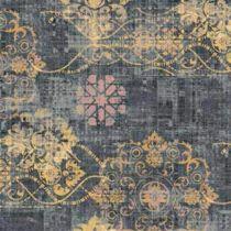 Bonaparte tapijt Vintage blauw-geel-roze 400cm